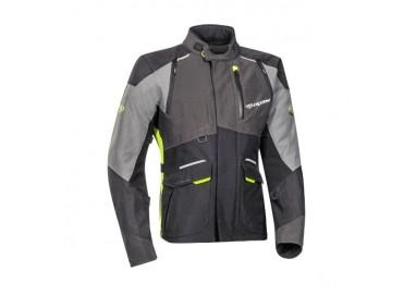 Motorcycle jacket TRAIL / MAXI TRAIL / AVENTURA model BALDER by Ixon yellow 1