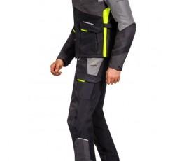 Motorcycle jacket TRAIL / MAXI TRAIL / AVENTURA model BALDER by Ixon yellow 4
