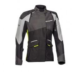 Chaqueta moto mujer Trail, Maxi Trail, Aventura modelo BALDER LADY de Ixon amarillo 1