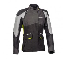 Veste de moto femme TRAIL / MAXI TRAIL / AVENTURA modèle BALDER LADY de Ixon jaune 1