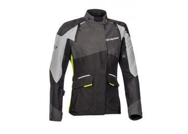 Woman motorcycle jacket TRAIL / MAXI TRAIL / AVENTURA model BALDER LADY by Ixon yellow 1