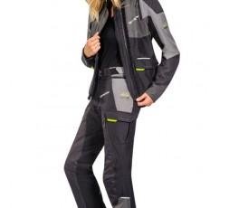 Veste de moto femme TRAIL / MAXI TRAIL / AVENTURA modèle BALDER LADY de Ixon jaune 4