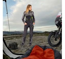 Chaqueta moto mujer Trail, Maxi Trail, Aventura modelo BALDER LADY de Ixon amarillo 5