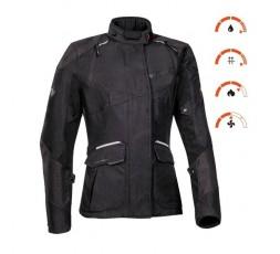 Woman motorcycle jacket TRAIL / MAXI TRAIL / AVENTURA model BALDER LADY by Ixon black 3