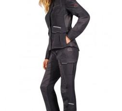 Woman motorcycle jacket TRAIL / MAXI TRAIL / AVENTURA model BALDER LADY by Ixon black 4
