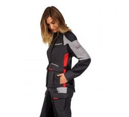 Women's motorcycle pants TRAIL / MAXI TRAIL / AVENTURA model BALDER PT L by Ixon red 4