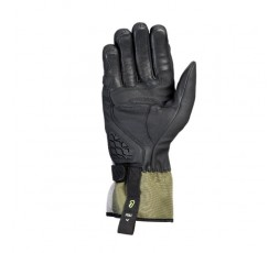 Motorcycle gloves for Trail, Maxi Trail or Adventure use, MS LOKI model by IXON khaki green 2