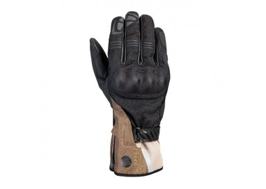 Motorcycle gloves for Trail, Maxi Trail or Adventure use, MS LOKI model by IXON khaki brown 1