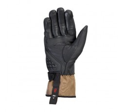 Motorcycle gloves for Trail, Maxi Trail or Adventure use, MS LOKI model by IXON khaki brown 2