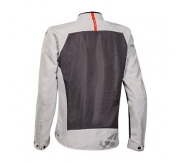 ORION 2-in-1 approved ultra-ventilated summer motorcycle jacket by Ixon grey-black-red 2