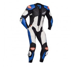 VENDETTA EVO leather suit by IXON blue 1