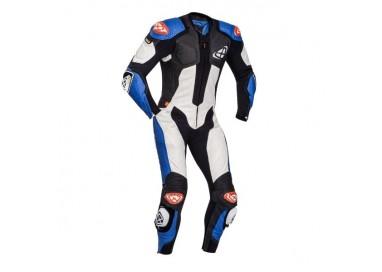 Combinaison de moto en cuir modèle VENDETTA EVO de IXON bleu 1