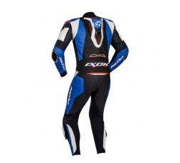 Combinaison de moto en cuir modèle VENDETTA EVO de IXON bleu 2