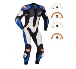VENDETTA EVO leather suit by IXON blue 3