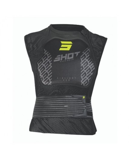 AIRLIGHT anatomical sleeveless protection vest by Shot