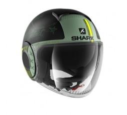 JET NANO Helmet green by SHARK green 1