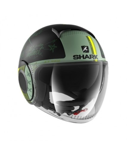 JET NANO Helmet green by SHARK HELMETS