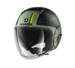 Casque JET modèle NANO TRIBUTE RM de SHARK vert 3