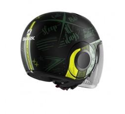 JET NANO Helmet green by SHARK green 2