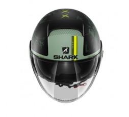 Casque JET modèle NANO TRIBUTE RM de SHARK vert 5