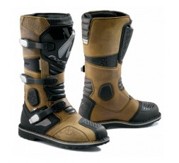 Motorcycle boots Tourism, Trail, Enduro model TERRA Evo Dry by Forma brown