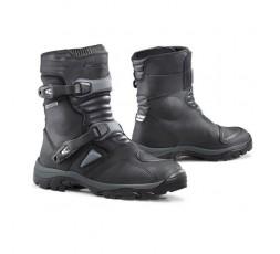 Botas de moto Enduro, Trail modelo Adventure Low Dry de Forma negro