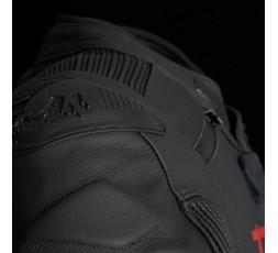 Blouson de moto en cuir RAPTOR EVO de la marque FURYGAN rouge et noir 5