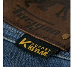 Motorcycle jeans model KATE X KEVLAR by Furygan with Stretch Ghost technology 5