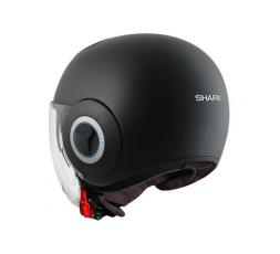 SHARK JET NANO Helmet Black mat 1