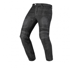 Motorcycle jeans with water repellent treatment (water repellent) model WYATTERP by INVICTUS black 1