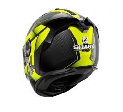 Spartan Carbon full face helmet SHESTTER series by SHARK yellow 2