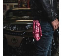 Gargantilla de moto KEITH de Segura rojo 4