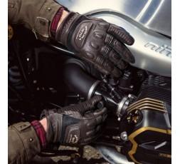 Gants de moto en cuir combiné BUTCH de Segura 3