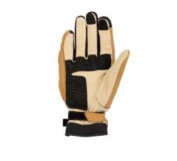 JANGO mixed leather motorcycle gloves by Segura beige 2
