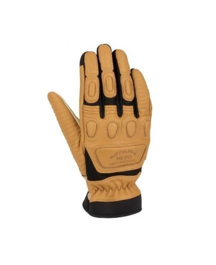 JANGO mixed leather motorcycle gloves by Segura