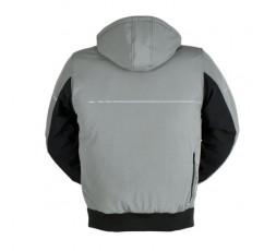 SEKTOR autumn / winter motorcycle jacket by FURYGAN grey3