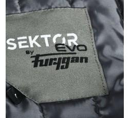 SEKTOR autumn / winter motorcycle jacket by FURYGAN grey5