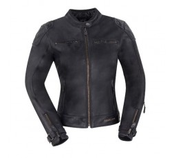 Blouson de moto pour femme en cuir modèle Lady Subotaï de Segura 1