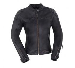 Lady Subotaï motorcycle leather women jacket by Segura 1