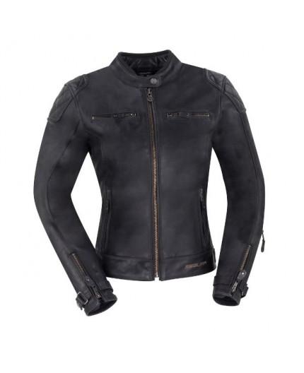 Lady Subotaï motorcycle leather women jacket by Segura