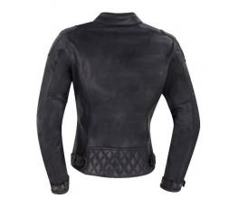 Lady Subotaï motorcycle leather women jacket by Segura 3