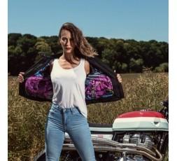 Lady Subotaï motorcycle leather women jacket by Segura 4