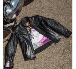 Lady Subotaï motorcycle leather women jacket by Segura 6