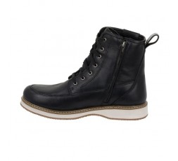 Livingston leather motorcycle boots by Segura 2