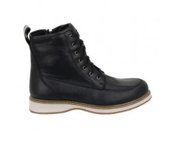 Livingston leather motorcycle boots by Segura 1