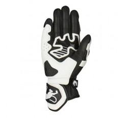 RACING motorcycle gloves model RG-21 by FURYGAN black and white 2