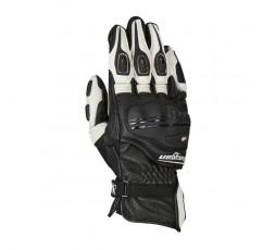 Gants de moto RACING modèle RG-21 de FURYGAN noir et blanc 1