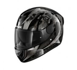 D-SKWAL 2 ATRAXX by Shark full face motorcycle helmet grey 1