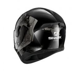 D-SKWAL 2 ATRAXX by Shark full face motorcycle helmet grey 2