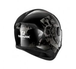 D-SKWAL 2 ATRAXX by Shark full face motorcycle helmet grey 4